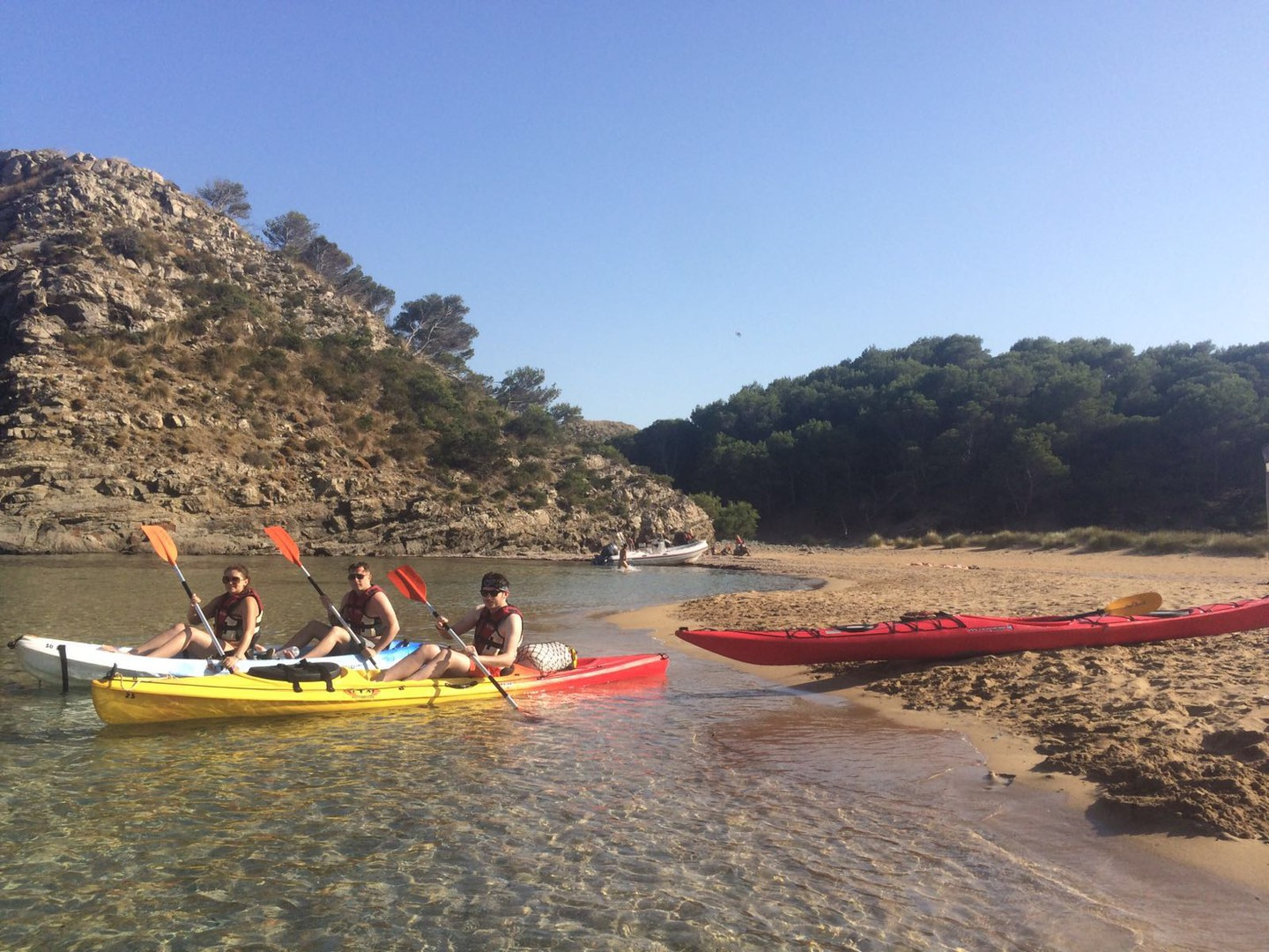 kayak  rental in Addaia