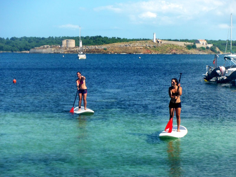Paddle surf Course a Fornells