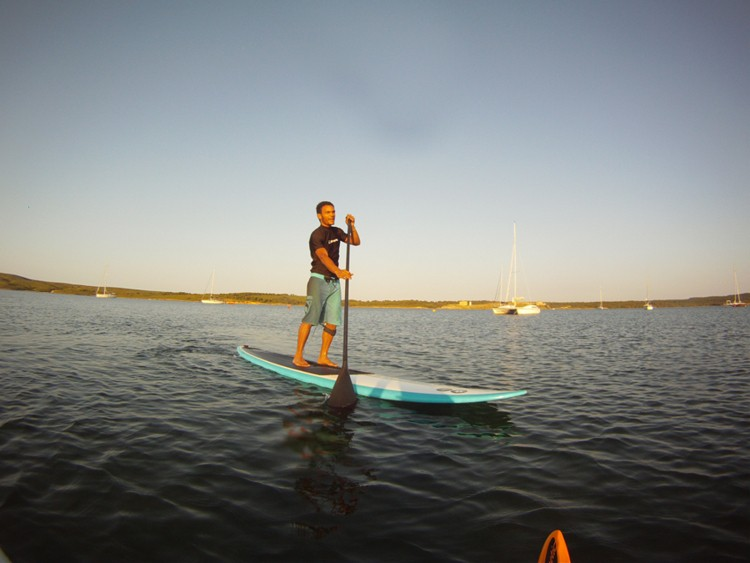 Paddle surf  rental in Addaia
