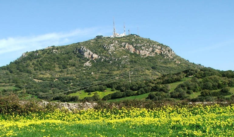The highest mountain of Minorca: Monte Toro