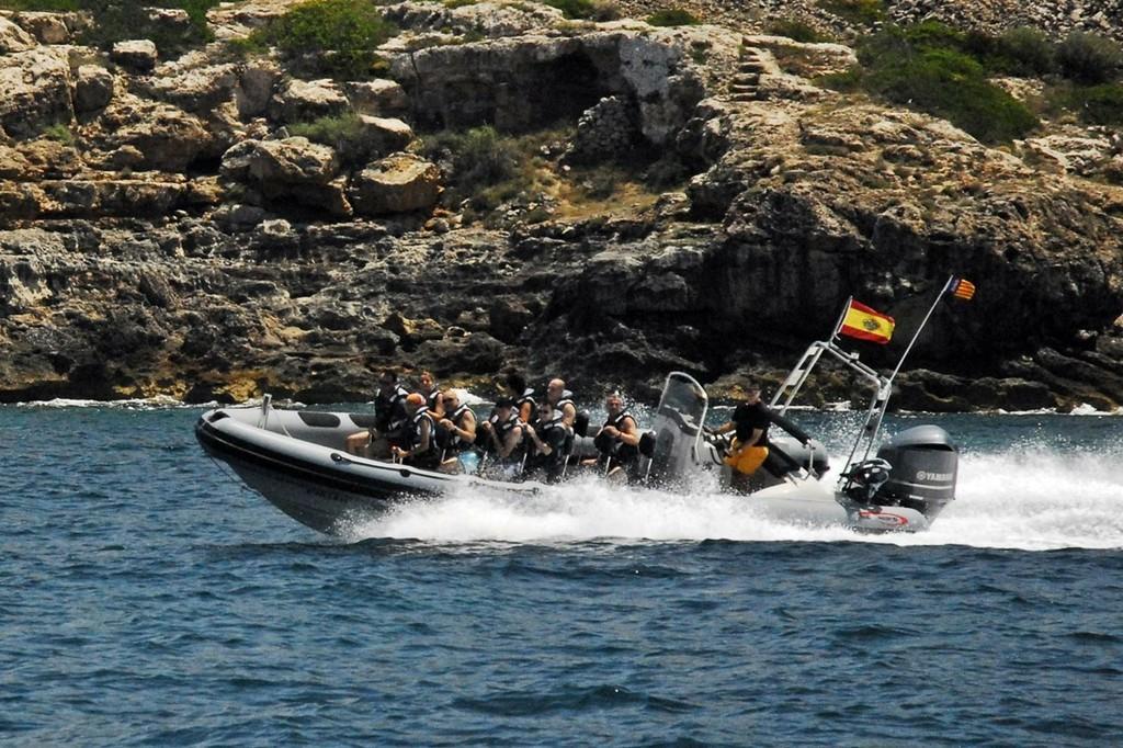 Charter 5 horas en lancha rápida a Es Trenc
