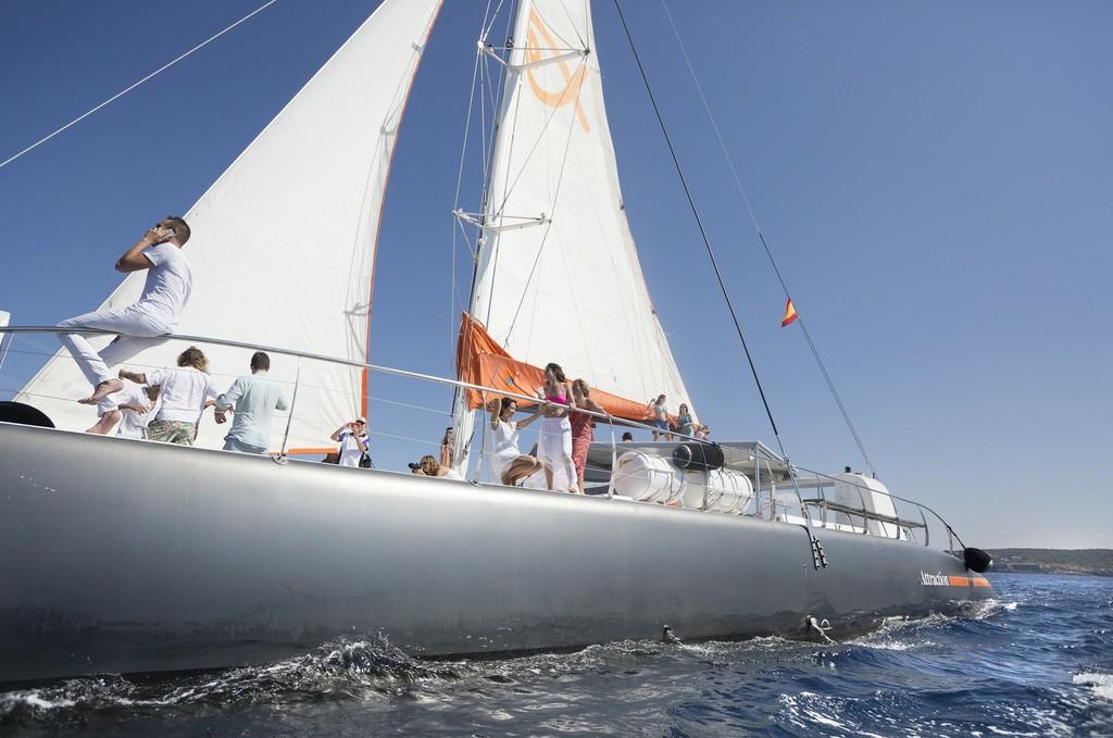 De velero en Mallorca