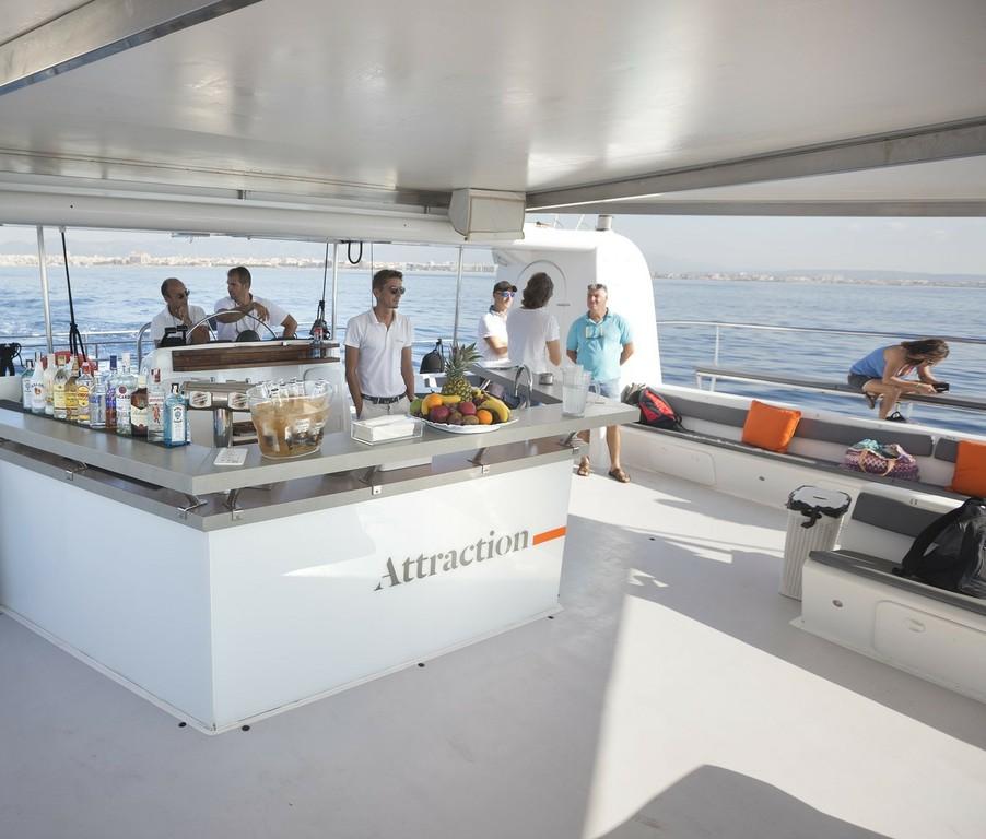 Paseo en catamarán de lujo Mallorca