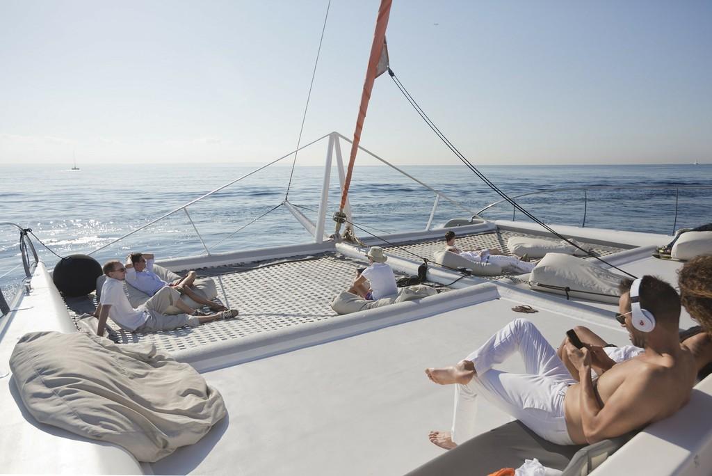Velero catamarán Mallorca