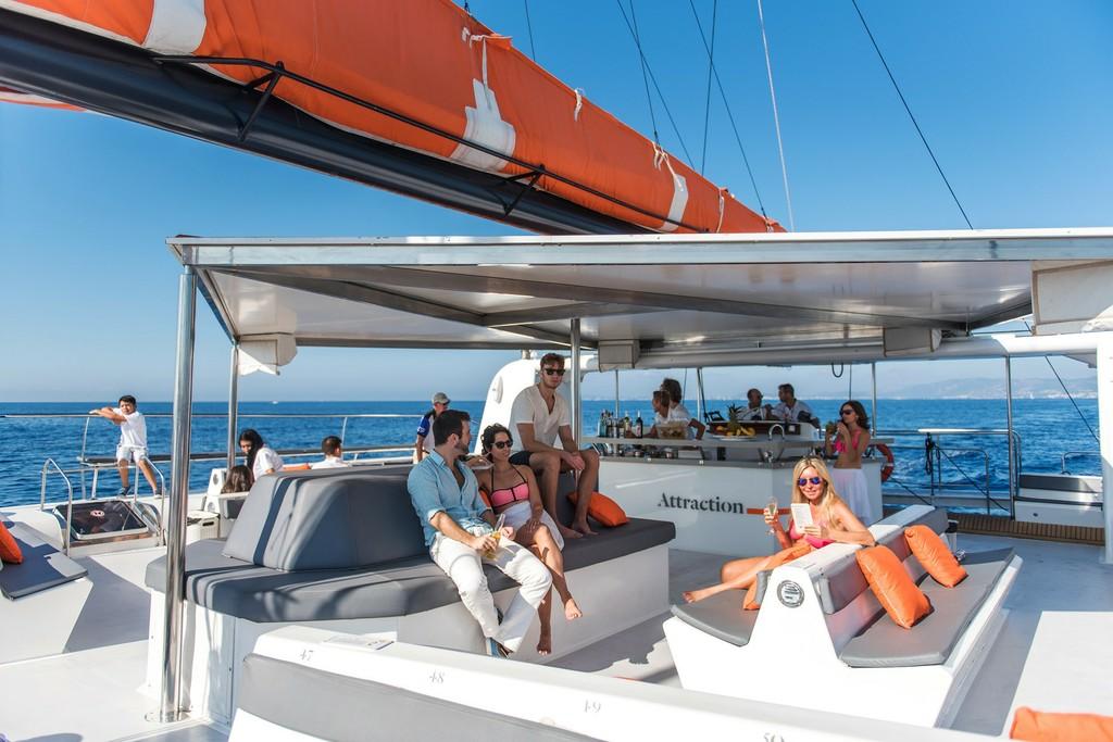 Paseo en catamarán en Mallorca