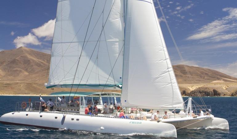 Catamaran tour Lanzarote