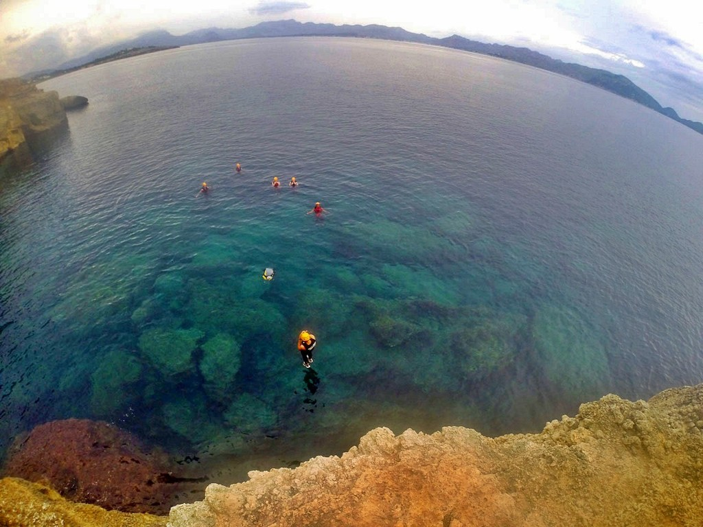 Coasteering in Majorca