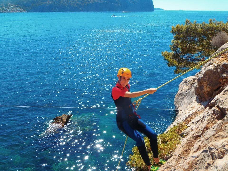 Coasteering in Majorca is fun!