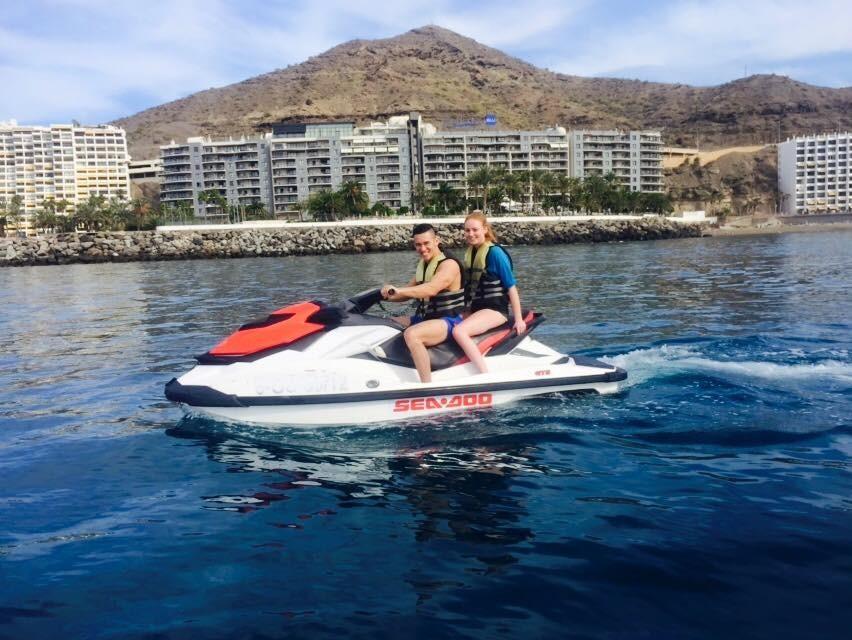 jet ski and quad in gran canaria