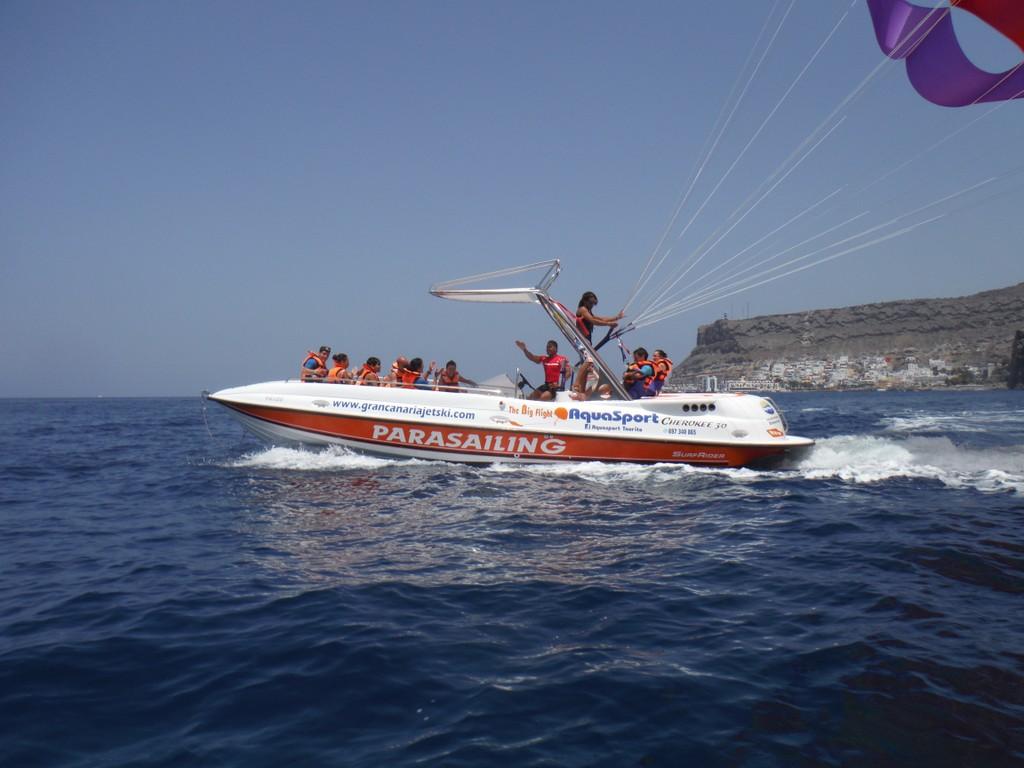Parasail-Tour in Gran Canaria