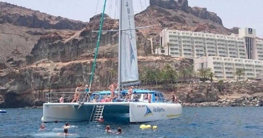 Catamaran trip gran canaria