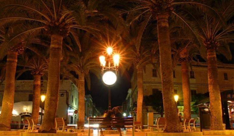 Night excursion to Ciutadella in Minorca