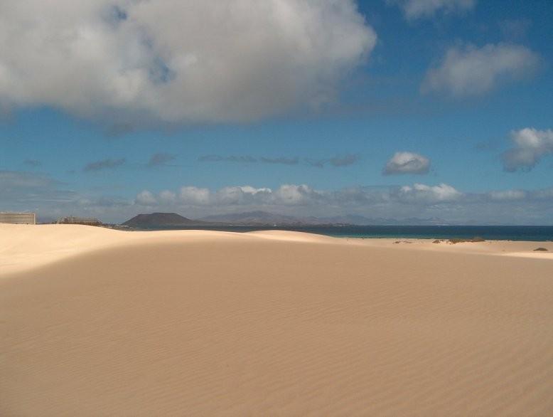 Desertic scenery Fuerteventura