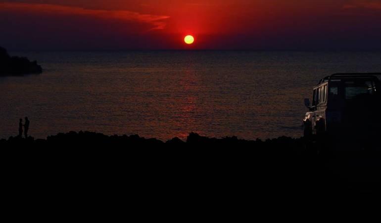 Sun set in Minorca