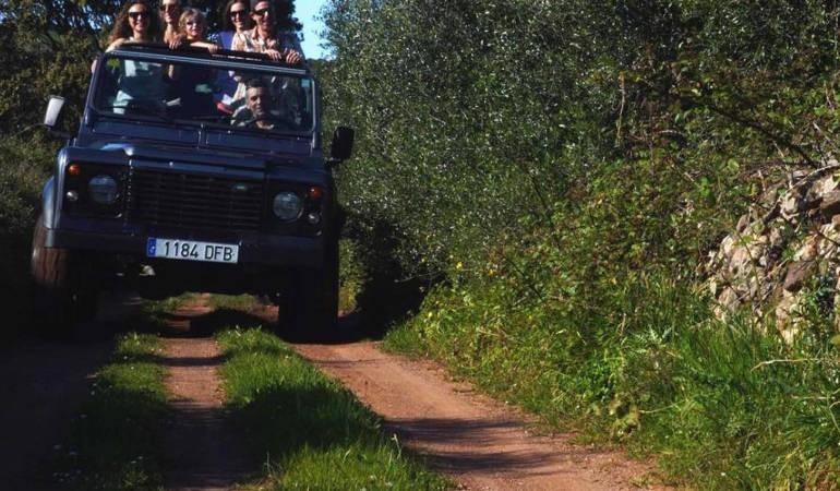 Offroad adventure Minorca