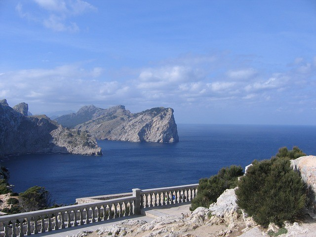 Views from the top of Formentor