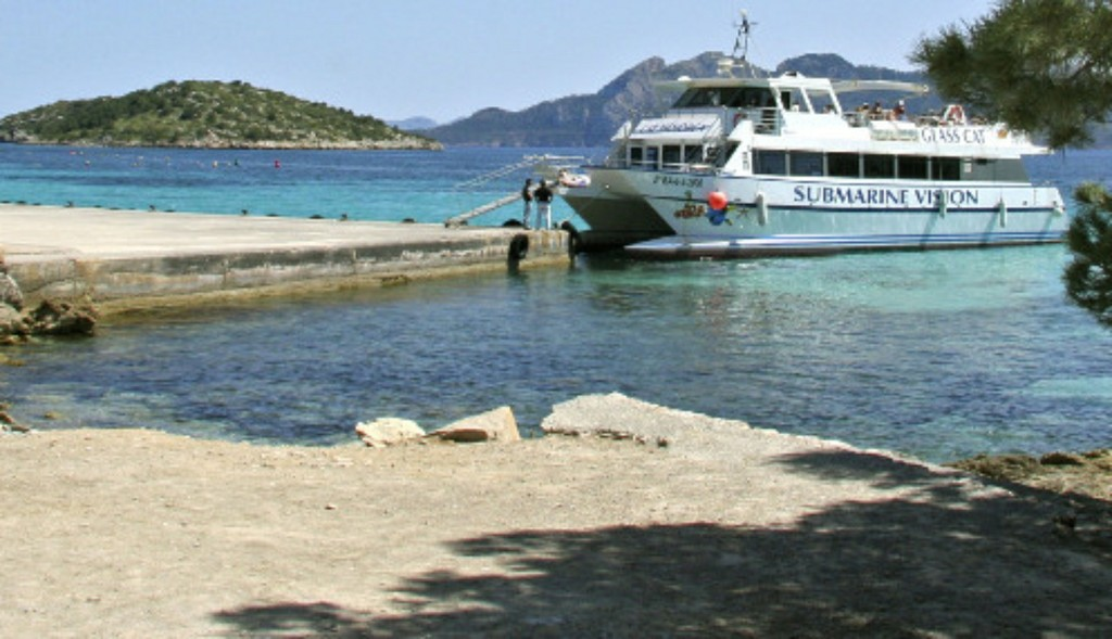 Barca Puerto Pollensa