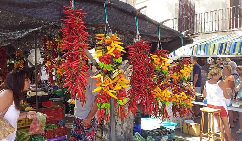 The market of Sineu