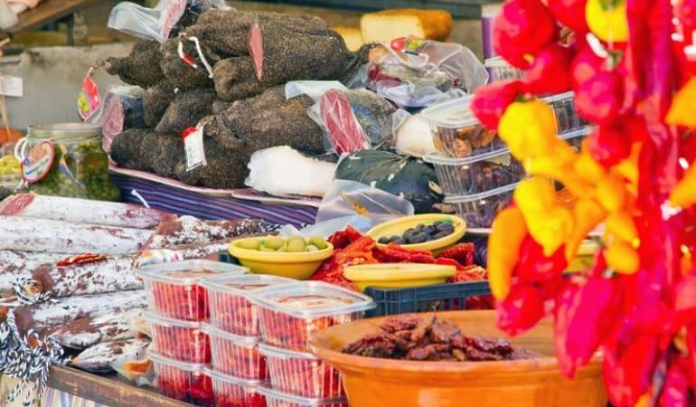 Market in Alcudia