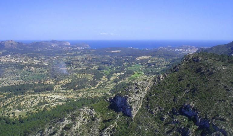 Views towards Calvia