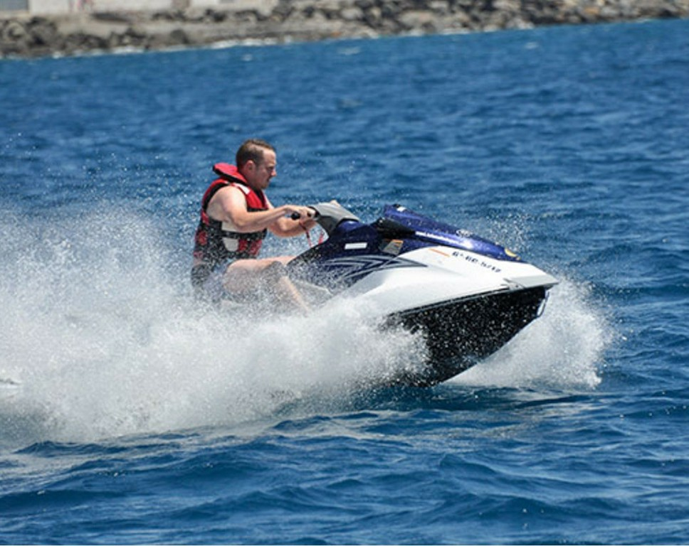 Jetski, a secure and fun activity
