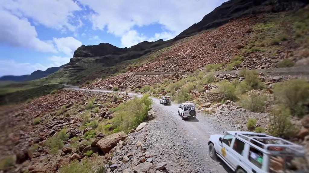 Tour en jeep Gran Canaria