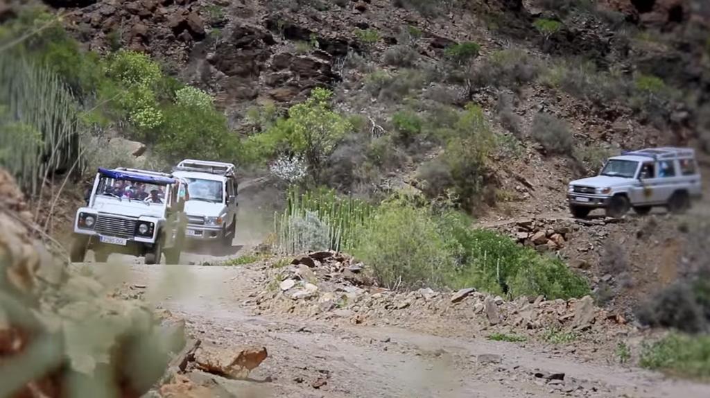 Jeep y camellos Gran Canaria