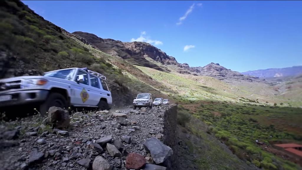 Excursión en jeep Gran Canaria