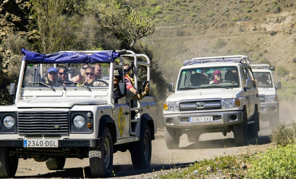 On- and Offroad-Tour in the North of Fuerteventura