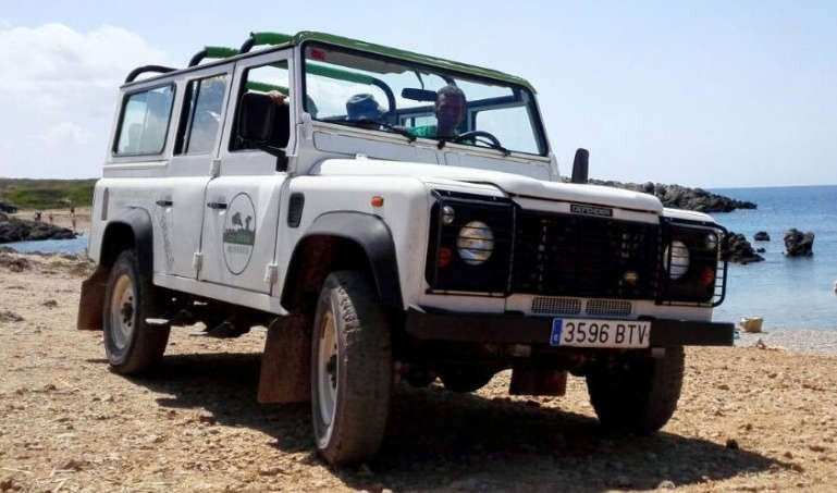 Jeep tour Minorca