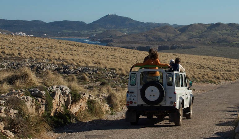 Discovering Minorca in an ATV