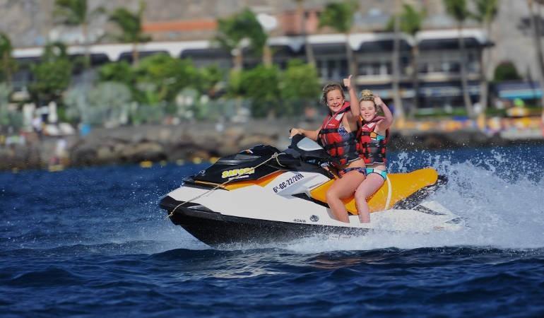 Adventure sports in Anfi del Mar