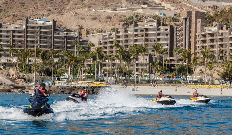 Jet Ski fun starting from Anfi del Mar