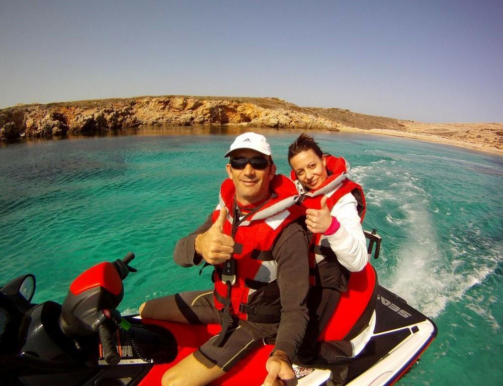 Jet Ski in Minorca