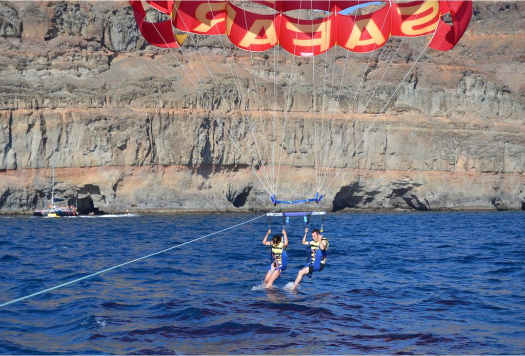Parasail experience South Gran Canaria