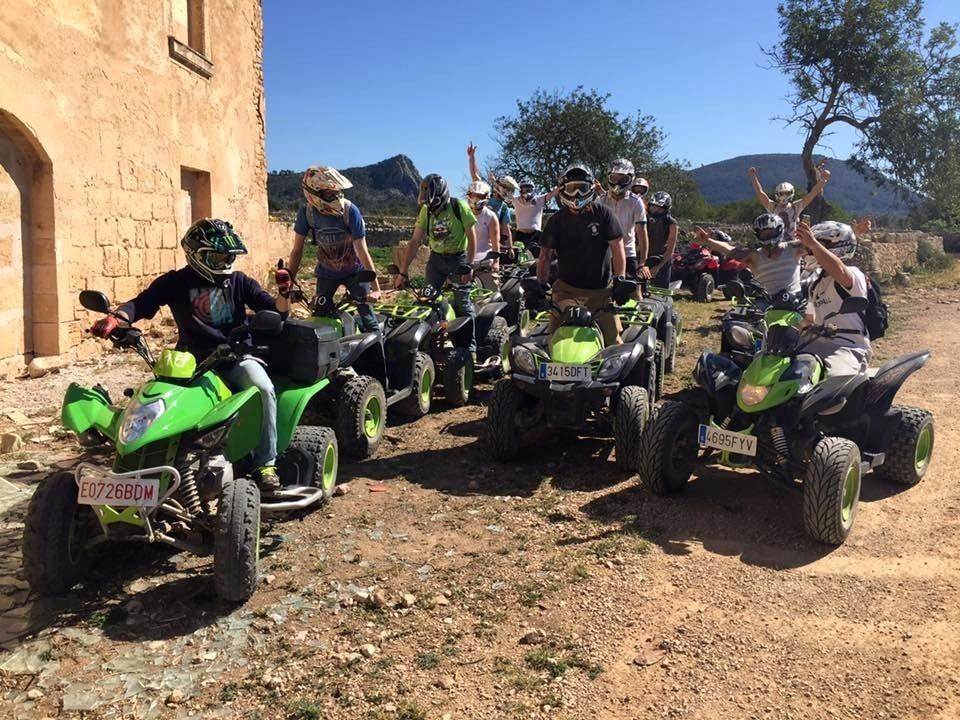 Quad tour with friends