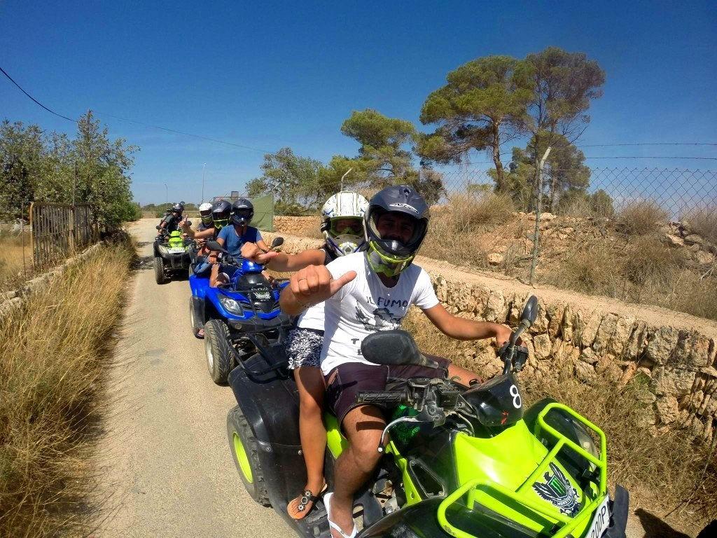 Quad experience Majorca