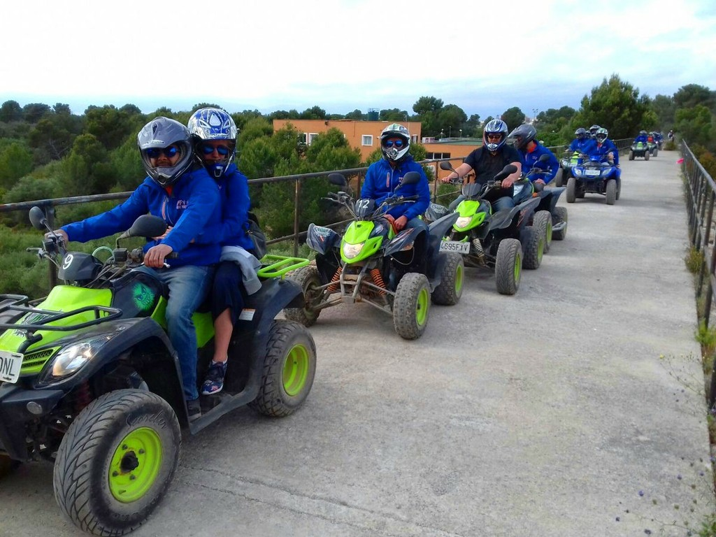 Quads for 1 or 2passengers available