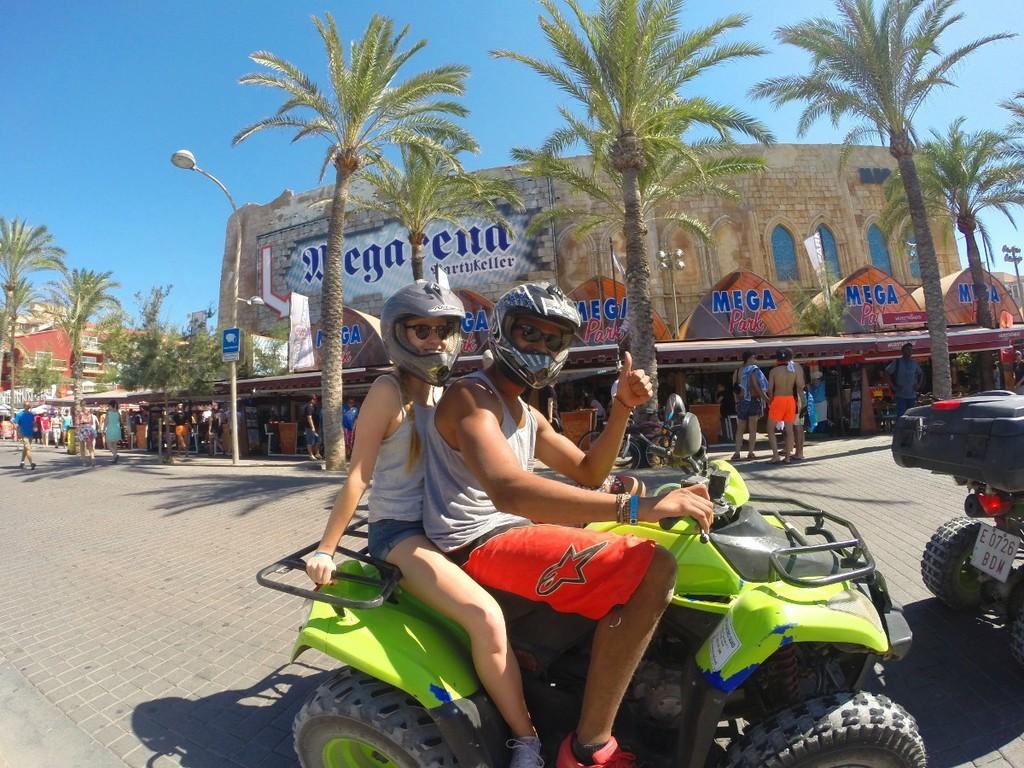 Passing by Playa de Palma
