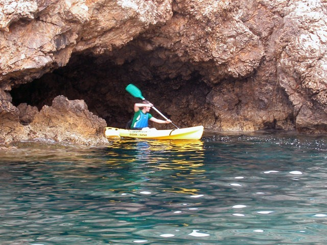 Rent a kayak in Majorca