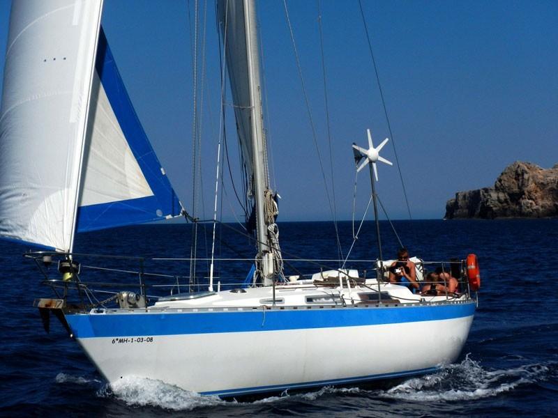 Minorca, sailing around the island