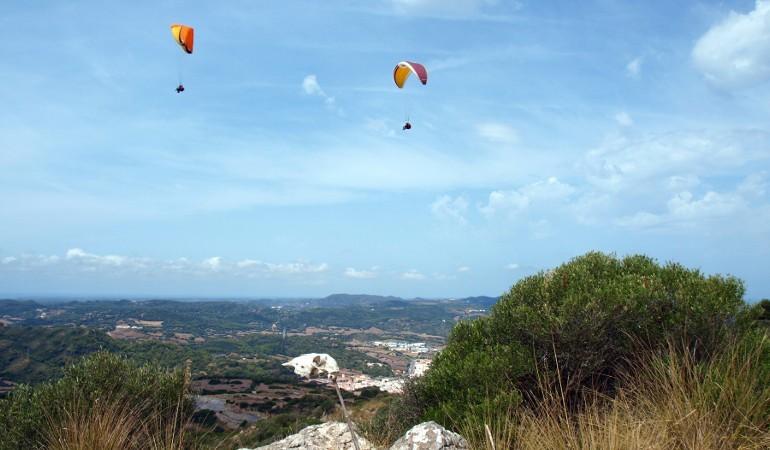 Paragliding Menorca