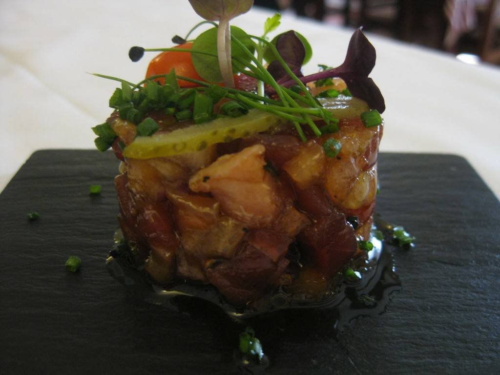 Tartaro salmon
