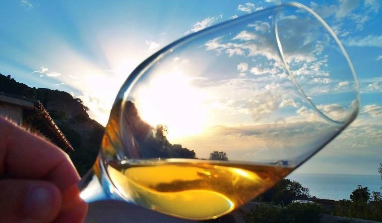 Wine tasting Majorca at sunset