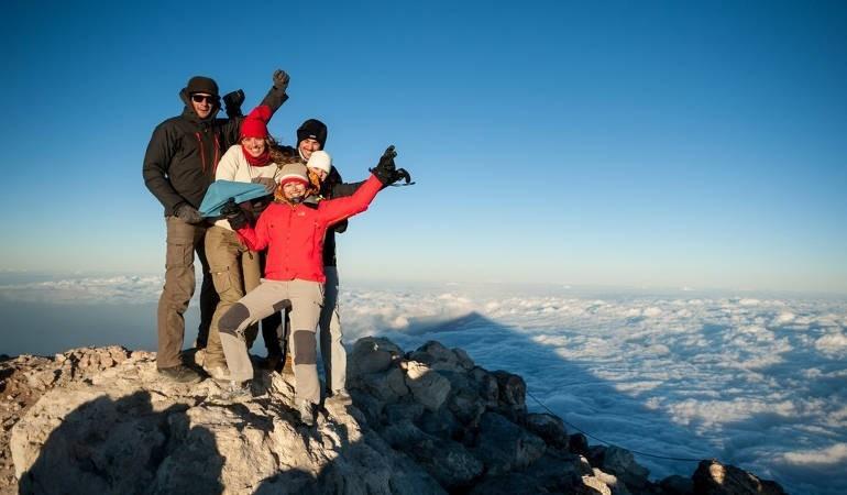 Wear always warm cloths at he peak of the Teide!