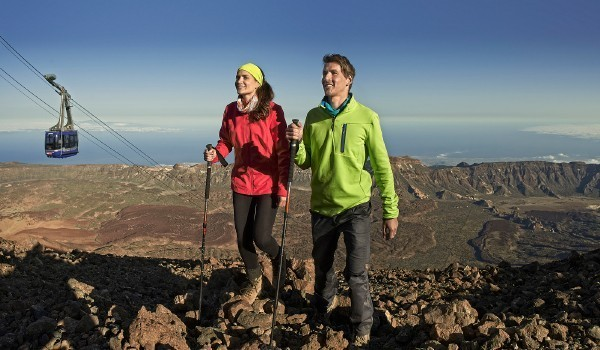 A good idea to explore the Teide: solid shoes.