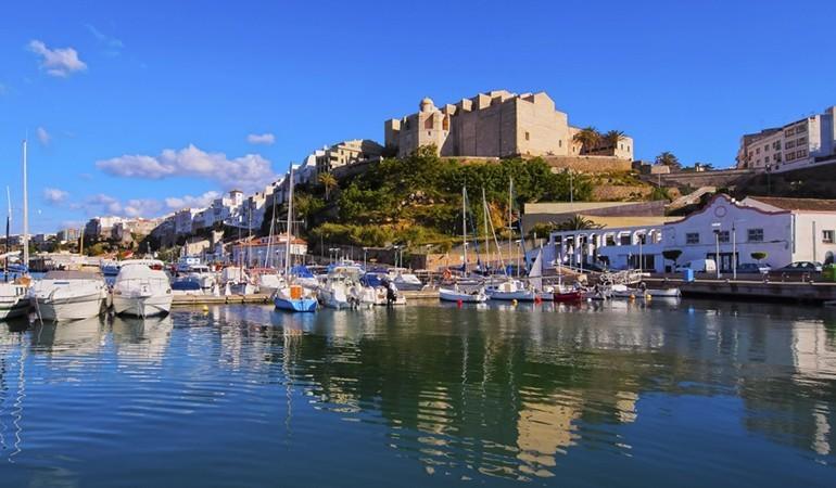 Mahon, capital of Minorca