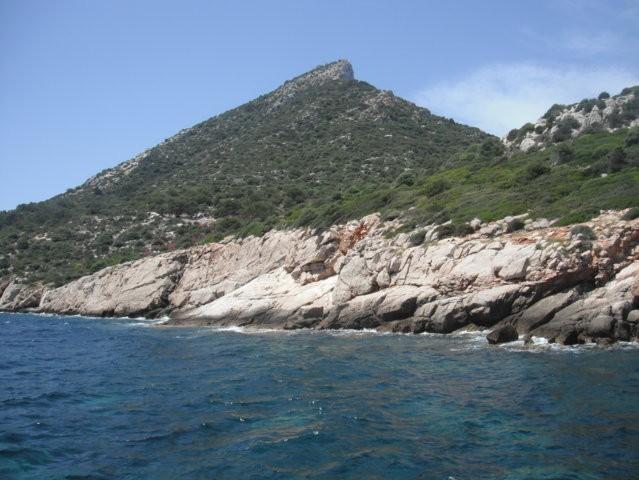 Reaching the island of La Dragonera