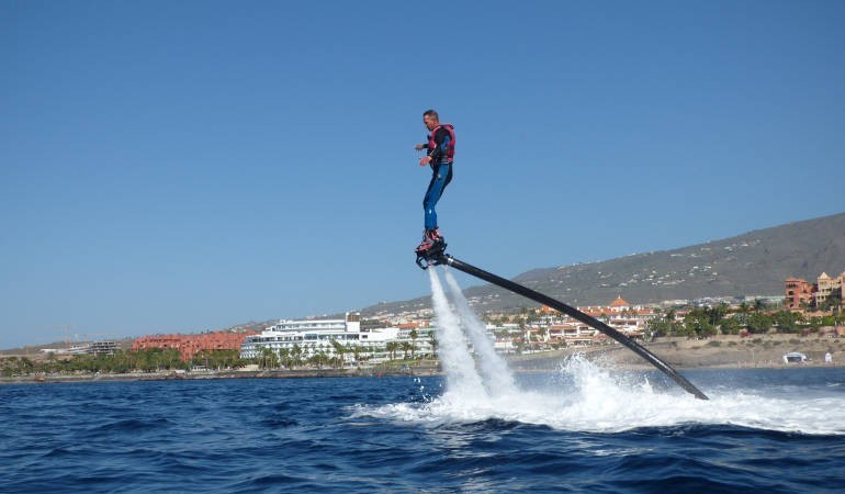 New trend: Flyboard