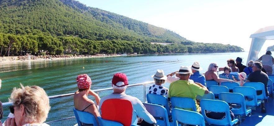 Barca a Playa Formentor